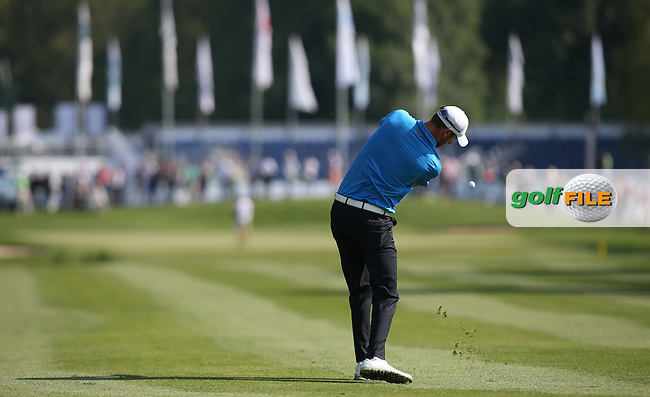 Chris Wood (ENG) playing second shot to the 11th during Round Two of the 2015 BMW International Open at Golfclub Munchen Eichenried, Eichenried, Munich, Germany. 26/06/2015. Picture David Lloyd | www.golffile.ie