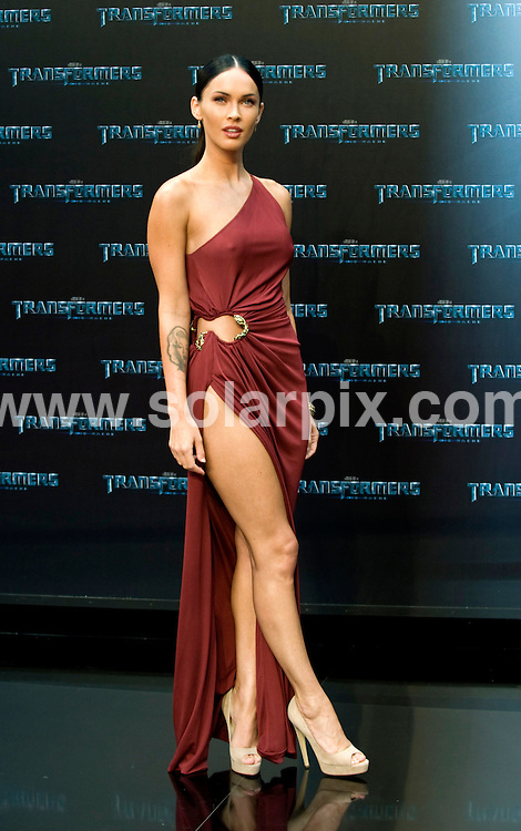 **ALL ROUND PICTURES FROM SOLARPIX.COM**.**SYNDICATION RIGHTS FOR UK AND SPAIN ONLY**.the 'Transformers 2 - Revenge Of the Fallen' premiere at the Sony Center in Berlin, Germany. 14 June 2009..This pic: Megan Fox..JOB REF: 9228 CPR (Grimm)       DATE: 14_06_2009.**MUST CREDIT SOLARPIX.COM OR DOUBLE FEE WILL BE CHARGED**.**ONLINE USAGE FEE GBP 50.00 PER PICTURE - NOTIFICATION OF USAGE TO PHOTO @ SOLARPIX.COM**.**CALL SOLARPIX : +34 952 811 768 or LOW RATE FROM UK 0844 617 7637**