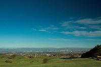 Glasgow from above Barrhead, East Renfrewshire