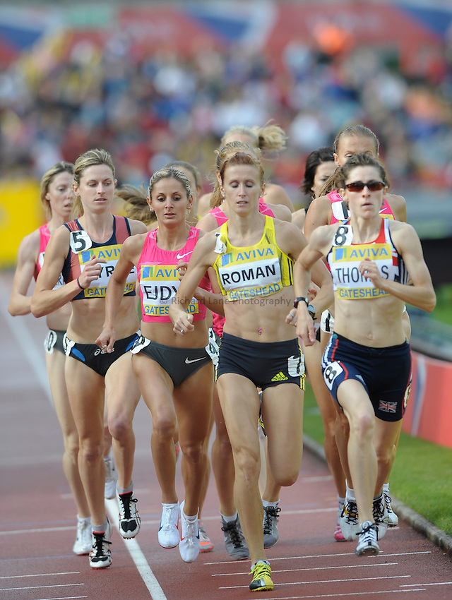Photo: Ady Kerry/Richard Lane Photography..Aviva British Grand Prix. 31/08/2009. .Sylwia Ejdys in the 1500m