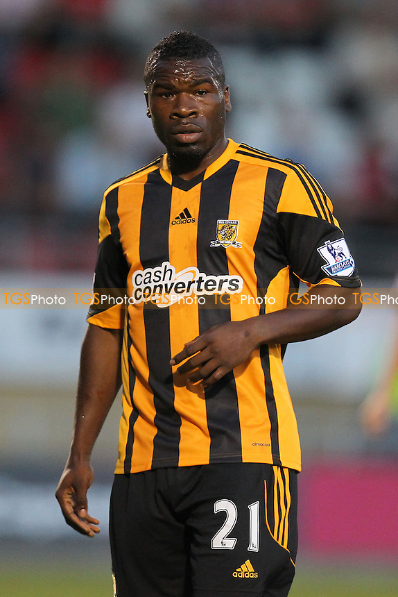 Aaron McLean of Hull City in action against his old club - Leyton Orient vs Hull City - Capital One Cup Second Round Football at the Matchroom Stadium, Brisbane Road, Leyton, London - 27/08/13 - MANDATORY CREDIT: Gavin Ellis/TGSPHOTO - Self billing applies where appropriate - 0845 094 6026 - contact@tgsphoto.co.uk - NO UNPAID USE