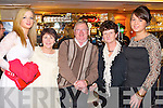 Pictured at the Plaza bar, Killarney on New Year's Eve were l-r:  Anne O'Keeffe Bridget Kealey, Denis O'Keeffe, Irene O'Keeffe and Orla Bruton (all Killarney).