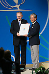 (L to R) <br />  Jacques Rogge, <br /> Tsunekazu Takeda, <br /> SEPTEMBER 7, 2013 : <br /> the 2020 Summer Olympic Games bid fianl presentation during the 125th International Olympic Committee (IOC) session in Buenos Aires Argentina, on Saturday September 7, 2013. <br /> (Photo by YUTAKA/AFLO SPORT) [1040]