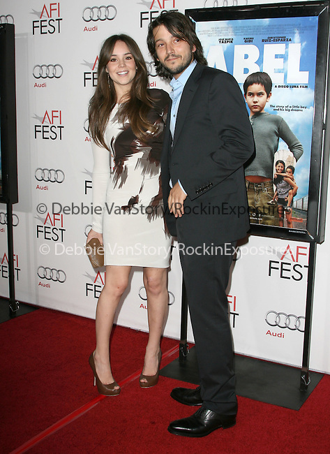 Diego Luna attends the AFI Fest 2010 Centerpiece Gala Screening of Abel held at The Grauman's Chinese Theatre in Hollywood, California on November 07,2010                                                                               © 2010 Hollywood Press Agency