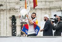 Real Madrid celebration Champions League 2016.