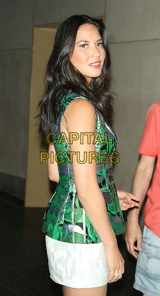 NEW YORK, NY - JUNE 24: Olivia Munn at NBC's Today Show in New  York City on June 24, 2014. <br /> CAP/MPI/RW<br /> &copy;RW/ MediaPunch/Capital Pictures
