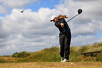 Kate Dwyer (Rossmore) during the 1st round of the Irish Women's Open Stroke Play Championship, Enniscrone Golf Club, Enniscrone, Co. Sligo. Ireland. 16/06/2018.<br /> Picture: Golffile | Fran Caffrey<br /> <br /> <br /> All photo usage must carry mandatory copyright credit (© Golffile | Fran Caffrey)