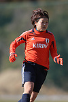 Aya Miyama (JPN), .FEBRUARY 11, 2012 - Football / Soccer : Nadeshiko Japan team training Wakayama camp at Kamitonda Sports Center in Wakayama, Japan. (Photo by Akihiro Sugimoto/AFLO SPORT) [1080]