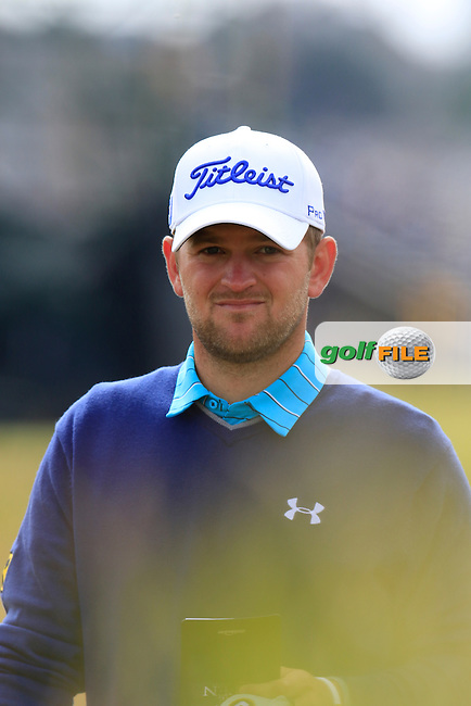 Bernd WIESBERGER (AUT) walks to the 15th tee during Monday's Final Round of the 144th Open Championship, St Andrews Old Course, St Andrews, Fife, Scotland. 20/07/2015.<br /> Picture Eoin Clarke, www.golffile.ie