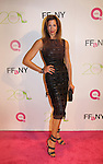 """Alicia Reiner attends the 20th Annual Annual QVC Presents """"FFANY Shoes on Sale"""" to benefit Breast Cancer Research, Education and Awareness  on Tuesday, October 1, 2013 at the Waldorf-Astoria, New York City, New York.  (Photo by Sue Coflin/Max Photos)"""
