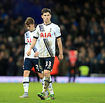 Tottenham's Ben Davies looks on dejected at the final whistle<br /> <br /> - English Premier League - West Ham Utd vs Tottenham  Hotspur - Upton Park Stadium - London - England - 2nd March 2016 - Pic David Klein/Sportimage