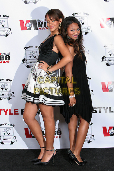12 November 2005 - Culver City, California - Rihanna and Teairra Mari.  Third Annual 2005 Vibe Awards on UPN Honoring The Best in Hip Hop And R&B - Press Room held at Sony Studios.  Photo Credit: Zach Lipp/AdMedia