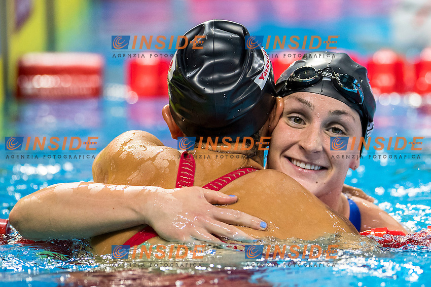 SMITH Leah USA Gold Medal<br /> Women's 400m Freestyle<br /> 13th Fina World Swimming Championships 25m <br /> Windsor  Dec. 9th, 2016 - Day04 Finals<br /> WFCU Centre - Windsor Ontario Canada CAN <br /> 20161209 WFCU Centre - Windsor Ontario Canada CAN <br /> Photo &copy; Giorgio Scala/Deepbluemedia/Insidefoto