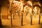 Model of Grand Mosque, Torre de la Calahorra museum, Cordoba, Spain