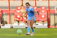 Bridgeview, IL - Sunday June 12, 2016: Sofia Huerta during a regular season National Women's Soccer League (NWSL) match between the Chicago Red Stars and the Portland Thorns at FC Toyota Park.