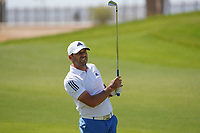 Sergio Garcia (ESP) on the 9th during Round 4 of the Saudi International at the Royal Greens Golf and Country Club, King Abdullah Economic City, Saudi Arabia. 02/02/2020<br /> Picture: Golffile | Thos Caffrey<br /> <br /> <br /> All photo usage must carry mandatory copyright credit (© Golffile | Thos Caffrey)