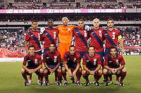United States starting eleven. The men's national teams of the United States (USA) and Mexico (MEX) played to a 1-1 tie during an international friendly at Lincoln Financial Field in Philadelphia, PA, on August 10, 2011.