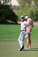 Brandon Stone (RSA) on the 10th during the 1st round of the DP World Tour Championship, Jumeirah Golf Estates, Dubai, United Arab Emirates. 15/11/2018<br /> Picture: Golffile | Fran Caffrey<br /> <br /> <br /> All photo usage must carry mandatory copyright credit (&copy; Golffile | Fran Caffrey)