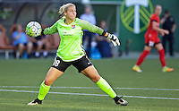 Portland, OR - Saturday July 02, 2016: Caroline Stanley during a regular season National Women's Soccer League (NWSL) match between the Portland Thorns FC and Sky Blue FC at Providence Park.