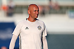 01 June 2016: Charlotte assistant coach Philip Poole (ENG). The Carolina RailHawks hosted the Charlotte Independence at WakeMed Stadium in Cary, North Carolina in a 2016 Lamar Hunt U.S. Open Cup third round game. The RailHawks won 5-0 after extra time after regulation ended in a 0-0 tie.