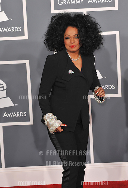 Diana Ross at the 54th Annual Grammy Awards at the Staples Centre, Los Angeles..February 12, 2012  Los Angeles, CA.Picture: Paul Smith / Featureflash