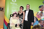Ty Hafan Star Ball Hilton<br /> Cardiff Hilton<br /> Amy-Claire, Caroline &amp; Stephen Davies.<br /> <br /> 27.09.13<br /> <br /> &copy;Steve Pope-FOTOWALES