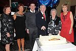 Noel Quinn celebrating his 80th birthday in the Westcourt hotel with his wife Una, son Pat and daughters Reshenda, Geraldine and Elaine. Photo: Colin Bell/pressphotos.ie