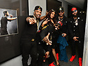 MIAMI, FLORIDA - FEBRUARY 08: R&B singer Richard Wingo, Kyle Norman, Brian Casey, Brandon Casey of Jagged Edge and Kelly Price backstage during the Pre Valentine's Love R&B Tour at James L. Knight Center on February 08, 2020 in Miami, Florida.  ( Photo by Johnny Louis / jlnphotography.com )