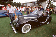 August 26th, 1984. 1938 Talbot-Lago T150-SS Figoni and Falaschi Coupe.