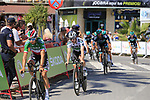Bora-Hansgrohe led by Italian Champion Davide Formolo and Irish Champion Sam Bennett (IRL) recon Stage 1 of La Vuelta 2019, a team time trial running 13.4km from Salinas de Torrevieja to Torrevieja, Spain. 24th August 2019.<br /> Picture: Eoin Clarke | Cyclefile<br /> <br /> All photos usage must carry mandatory copyright credit (© Cyclefile | Eoin Clarke)