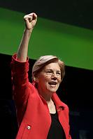 Senator Elizabeth Warren speaking at the URJ Biennial at the Hynes Convention Center Boston MA 12.8.17