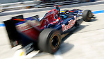 03 Apr 2009, Kuala Lumpur, Malaysia ---     Scuderia Toro Rosso driver Sebastien Bourdais of France in the first practice session ahead the 2009 Fia Formula One Malasyan Grand Prix at the Sepang circuit near Kuala Lumpur. Photo by Victor Fraile --- Image by © Victor Fraile / The Power of Sport Images