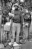 Ali 'the Professor', Speakers' Corner, Hyde Park, London.