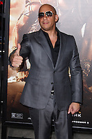 WESTWOOD, CA - AUGUST 28: Premiere of Universal Pictures' 'Riddick' at Mann Village Theatre on August 28, 2013 in Westwood, California. (Photo by Xavier Collin/Celebrity Monitor)
