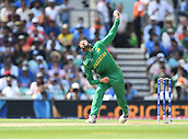 June 18th 2017, The Kia Oval, London, England;  ICC Champions Trophy Cricket Final; India versus Pakistan; Junaid Khan of Pakistan bowls