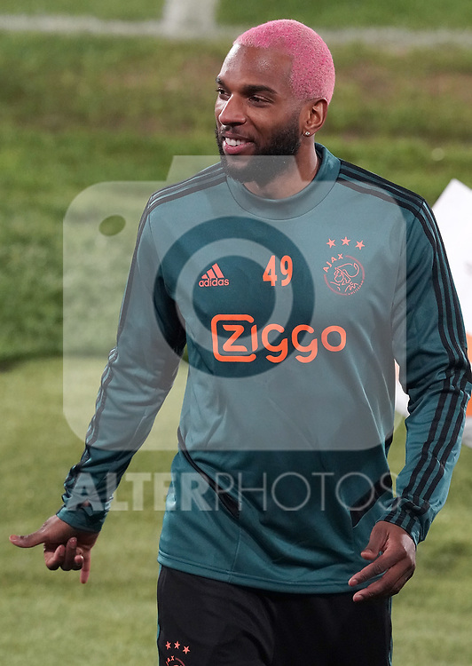 AFC Ajax's Ryan Babel during training session. February 19,2020.(ALTERPHOTOS/Acero)