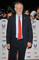 Jeremy Corbyn MP at the Pride of Britain Awards 2016, Grosvenor House Hotel, Park Lane, London, England, UK, on Monday 31 October 2016. <br /> CAP/CAN<br /> &copy;CAN/Capital Pictures /MediaPunch ***NORTH AND SOUTH AMERICAS ONLY***