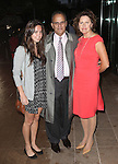 Joe Torre & Family attending the Memorial To Honor Marvin Hamlisch at the Peter Jay Sharp Theater in New York City on 9/18/2012.