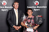 Service to Sport Recipent. Counties Manukau Sport Sporting Excellence Awards held at Testra Clear Pacific Events Centre, Manukau, on Thursday 9th December 2010.