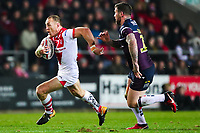 Picture by Alex Whitehead/SWpix.com - 16/03/2018 - Rugby League - Betfred Super League - St Helens v Leeds Rhinos - Totally Wicked Stadium, St Helens, England - St Helens' James Roby.