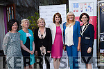Speaking at the Women in Media Conference in Ballybunion on Saturday were <br /> l-r Catherine Shanahan (Irish Examiner), Mary Dundon (Head of Journalism at UL), former TD Aine Collins, acting Tanaiste Joan Burton, RTE's Miriam O'Callaghan and Hildegarde Naughton (TD for Galway West)