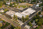 Aerial View of Keizer City Hall, Oregon