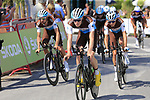 AG2R La Mondiale recon Stage 1 of La Vuelta 2019, a team time trial running 13.4km from Salinas de Torrevieja to Torrevieja, Spain. 24th August 2019.<br /> Picture: Eoin Clarke | Cyclefile<br /> <br /> All photos usage must carry mandatory copyright credit (© Cyclefile | Eoin Clarke)
