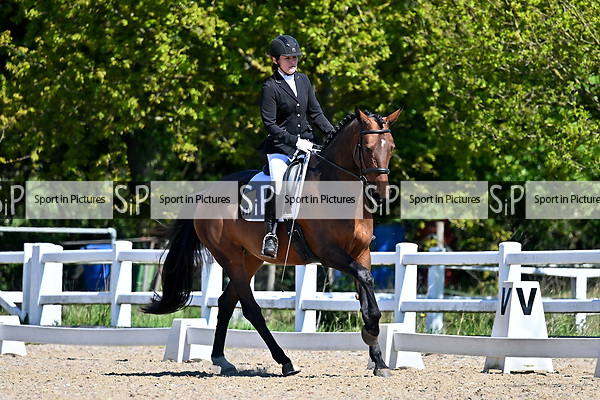 Class 4. British dressage. Brook Farm Training Centre. Essex. UK. 12/05/2019. ~ MANDATORY Credit Garry Bowden/Sportinpictures - NO UNAUTHORISED USE - 07837 394578