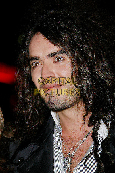 """RUSSELL BRAND.At the UK Film Premiere of """"St. Trinian's"""", Empire Leicester Square, London, England, December 10th 2007..portrait headshot .CAP/DAR.©Darwin/Capital Pictures"""
