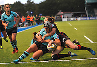 Women's Premiership Rugby match between Saracens Women v Worcester Valkyries, October 9,2016