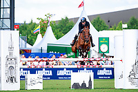 AUS-Emma McNab rides Fernhill Tabasco during the DHL-Preis CICO3* Teilprüfung Springen. 2017 GER-CHIO Aachen Weltfest des Pferdesports. Friday 21 July. Copyright Photo: Libby Law Photography