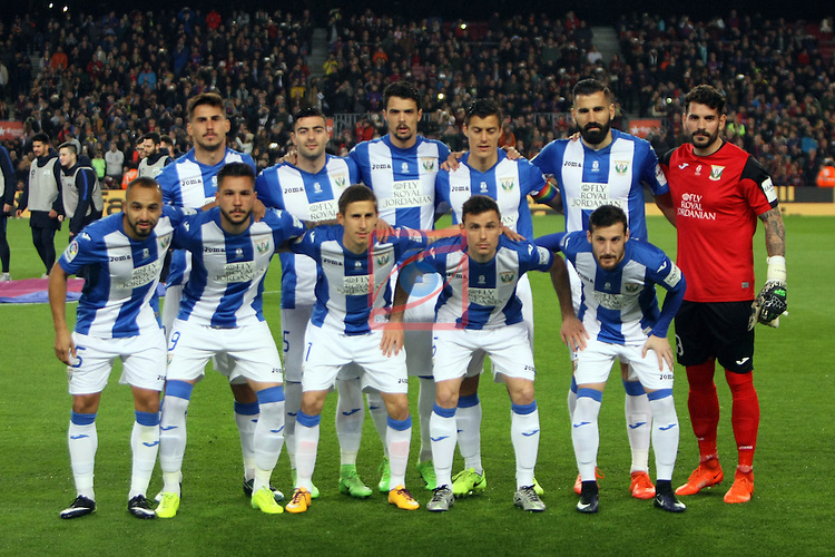 League Santander 2016/2017. Game: 23.<br /> FC Barcelona vs CD Leganes SAD: 2-1.