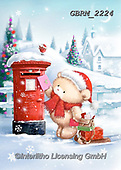 Roger, CHRISTMAS ANIMALS, WEIHNACHTEN TIERE, NAVIDAD ANIMALES, paintings+++++,GBRM2224,#xa#