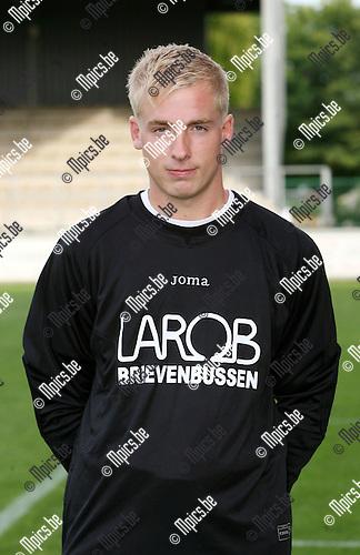2009-08-01 / Seizoen 2009-2010 / Voetbal / Sint Lenaarts / Kurt Snoeys..Foto: Maarten Straetemans (SMB)